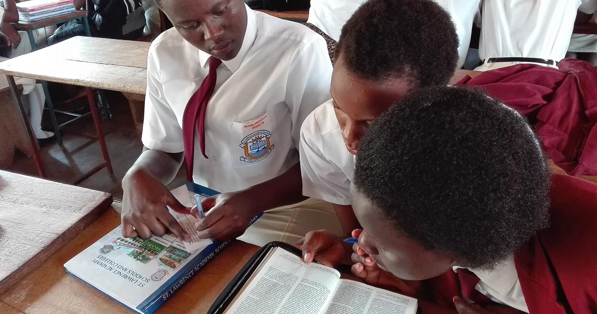 High school Bible Clubs